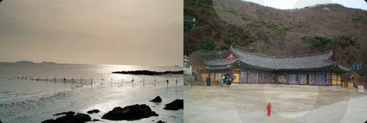 Seokmodo Island Bomunsa Temple