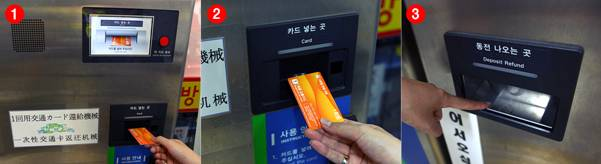 how to work subway deposit refund device