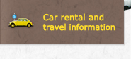 Car rental and travel information