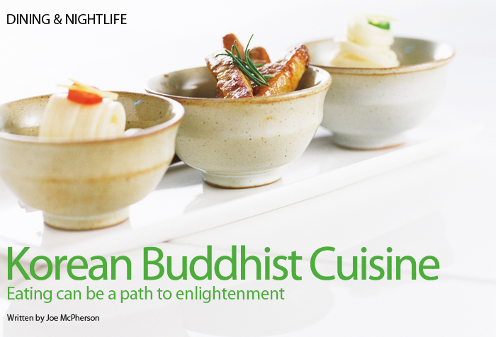 Korean Buddhist Cuisine