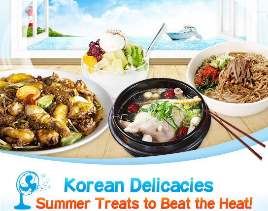 Korean Delicacies Summer Treats to Beat the Heat!