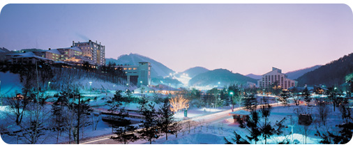 Winter Sonata's Home Ground, Yongpyong Resort