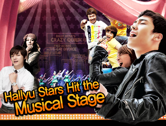 Hallyu Stars Hit the Musical Stage