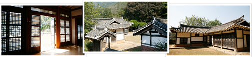 There are a total of three images on the left hand side within the order from the Farm Cottage, Gapyeong Hanok House flooring photos, photos, photos, their appearance of Hanok Hanok
