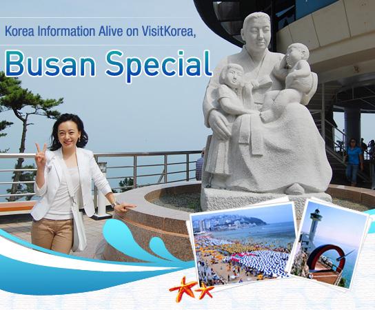Korea Information Alive on VisitKorea, Busan Special