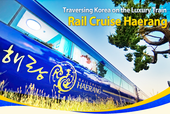 Traversing Korea on the Luxury Train Rail Cruise Haerang
