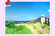 Jeju Olle Trail alone walking woman pooping