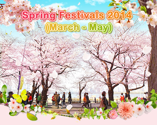 Spring Festivals 2014 (March - May)