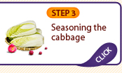 STEP 3: Seasoning the cabbage