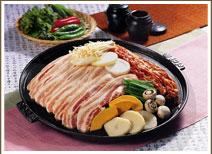 2. Pork Dish - Samgyeopsal