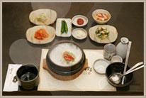 3. Chicken Dish - Samgyetang