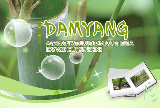 Damyang,  A Garden Without Bamboo Is Like a Day Without Sunshine