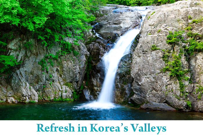 Valles para visitar en el caluroso verano coreano