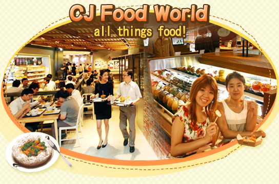 CJ Food World – all things food!