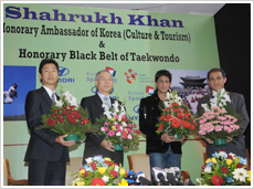 King Khan Appointed Honorary Ambassador of Korea 