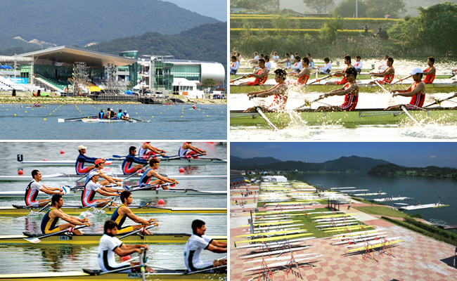 2013 World Rowing Championships, Chungju, Korea to start Aug 25