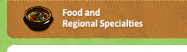 Food and Regional Specialties