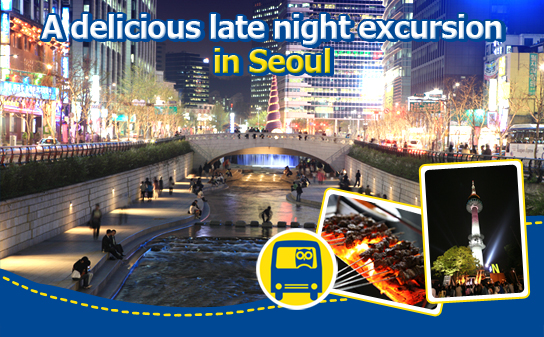 A delicious late night excursion in Seoul