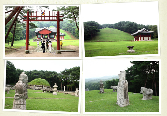 Geonwolleung ()  Tomb of King Taejo 