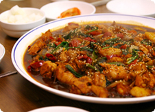 Sweet , Spicy, and Chewy Chicken, Jjimdak