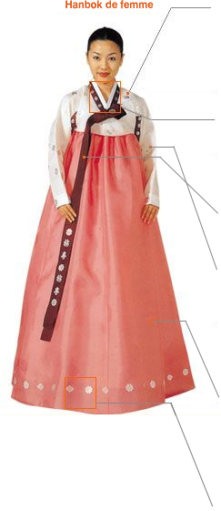 Hanbok de femme