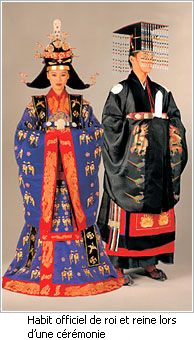hanbok (Le costume royal)