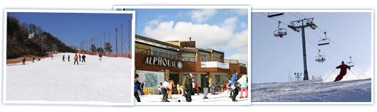 les stations de ski en cor e 2013 guide officiel de tourisme en cor e. Black Bedroom Furniture Sets. Home Design Ideas