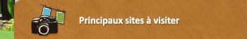 Principaux sites à visiter