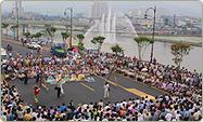 Samstagsmarkt mit Musik in Jangheung
