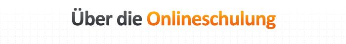 Über die Onlineschulung
