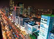 江南大路的夜景