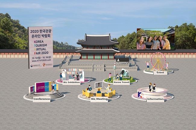 2020韩国旅游在线博览会 首页