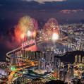 海上绚丽的 '2019 釜山烟花庆典', 11月 2日开幕
