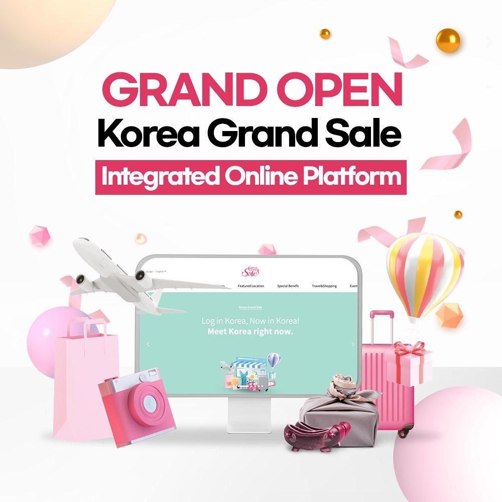 韩国购物旅游信息大全…KOREA GRAND SALE网络购物平台上线
