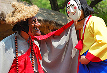 Hahoe Mask Dance Drama Performance