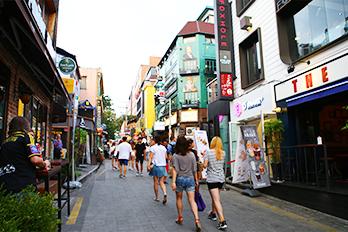 梨泰院世界饮食特化街道
