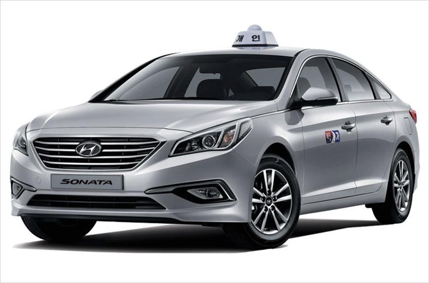 中型計程車(圖片來源:SONATA)