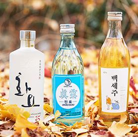 Lernen Sie koreanischen Alkohl kennen!
