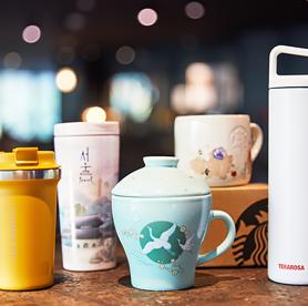 Kaufen Sie limitierte Merchandise-Artikel der Kaffeeketten in Korea