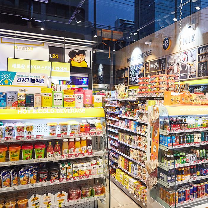 便利商店零食購物清單