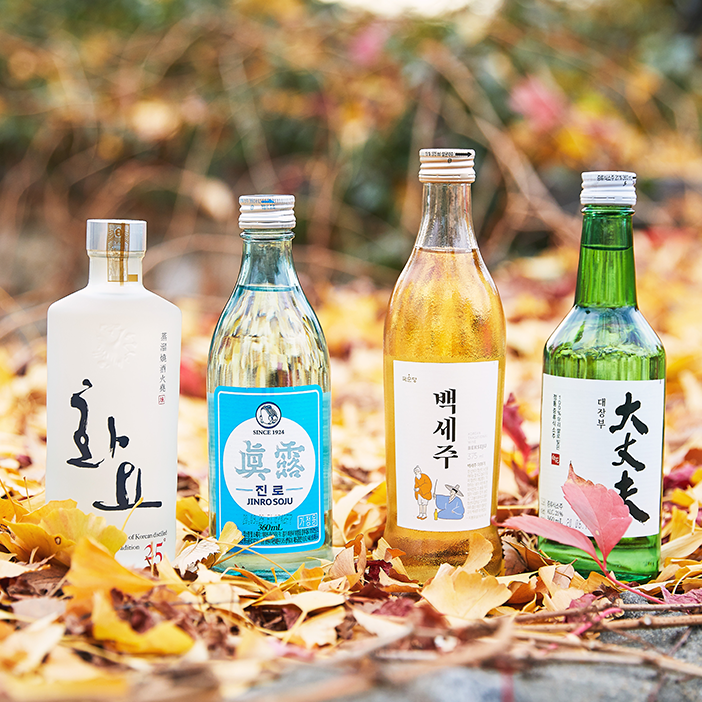Алкогольные напитки Кореи