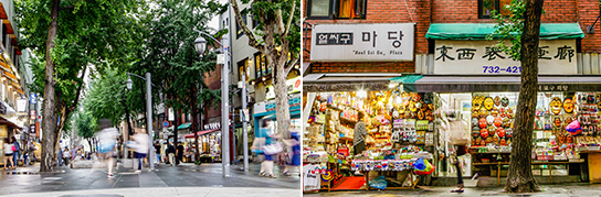Photo: Insa-dong Street