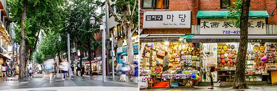 Photo: Insa-dong Street