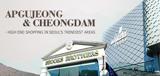 Apgujeong Cheongdam High End Shopping In Seouls Trendiest Areas