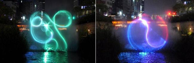 Cheonggyecheon's Laser Light Show Gets An Upgrade