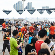 Escape the Heat at Hangang Water Fight Festival!