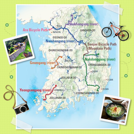 Beautiful Riverside Bicycle Routes in Korea Official Korea Tourism