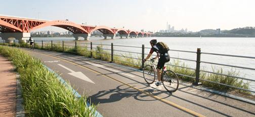 Beautiful Riverside Bicycle Routes In Korea Official Korea