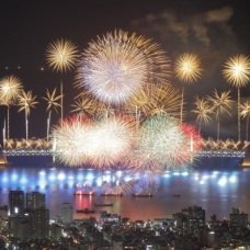 Busan Fireworks Festival Held Oct. 22