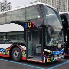 Popular Busan City Tour gets New Double-Decker Buses!